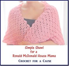 Crochet for a Cause: Ronald McDonald House on Pinterest Ronald ...
