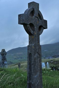Celtic cross, County Kerry, Ireland