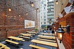 NYC's Best New Outdoor Watering Holes (just in time for summer!)