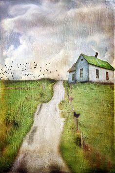 And We Wait for the Blackbirds Return by Cheryl Tarrant, via Flickr