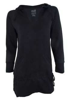 Bamboo Sweat Hooded Cover Up | Womens fitness clothing | no balls