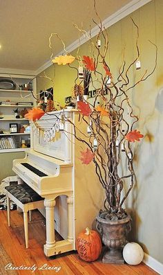 DIY Thankful Tree!