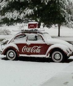 Everything CocCola - #searchlocated - Volkswagen Beetle Coca Cola