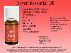 Raven Essential Oil   Ask me how Young Living can change your life like they've changed mine. Celynn@live.ca. Member Number 1737761. Or order for yourself here: https://www.youngliving.com/signup/?sponsorid=1737761&enrollerid=1737761