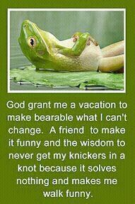 My kind of serenity prayer