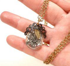 Make a Bottle Charm Necklace