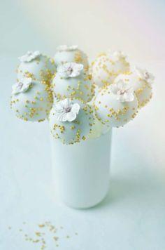 Enchanting Orchids Cake Pops