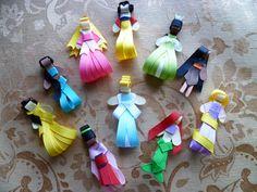 Disney Princess Hair Clippies
