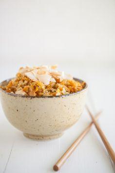 Carrot-Ginger Brown Rice