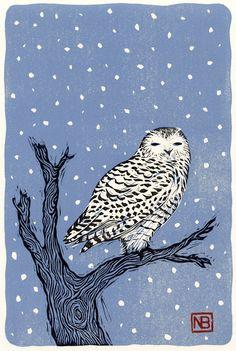 Holiday Cards by Neil Brigham, via Behance