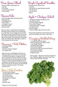 7 amazing Kale Recipes