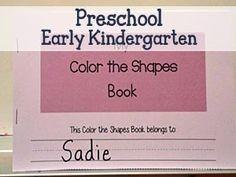 Preschool Early Kindergarten Worksheets and Printables