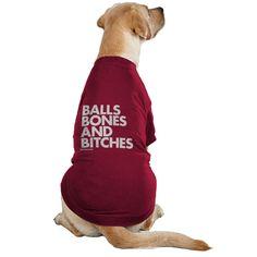 Balls Bones Bitches Red