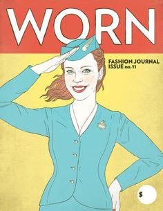 fashion, journals, worn journal, favourit cover, magazines