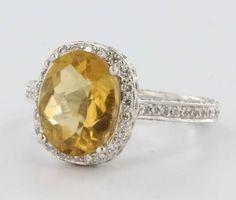 diamond citrin, diamond halo, pave diamond