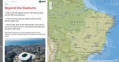 Story map journal app from Esri
