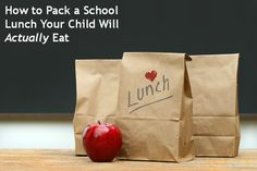 A nutritious #lunch for your kids doesn't need to be complicated, in fact, it doesn't even need to include a sandwich to be nutritious. Use the suggestions here above and you may find the lunch box is empty when the #kids get home. #school