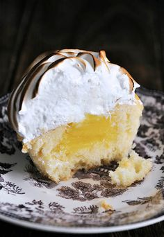 Lemon Meringue Cupcakes by Pick Yin