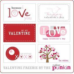 cute Valentine's Day printables
