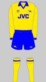 1981-1982 Arsenal Kit