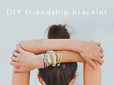 lululemon | from the blog: DIY friendship bracelet
