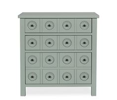 Calista Accent Chest - Cornflower - Exclusive to Boston Interiors, the Calista accent chest is stocked in a cornflower blue finish. Constructed of birch veneers and features three storage