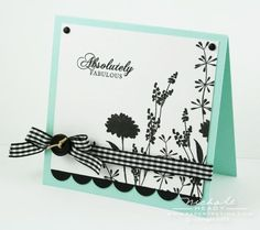silhouett, stamped cards, color, simpl card