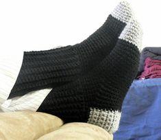 Crochet Socks for Men - Free crochet sock pattern