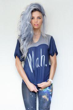 love the lilac hair