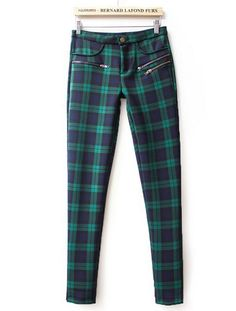 Shop Green High Waist Plaid Elastic Pant online. Sheinside offers Green High Waist Plaid Elastic Pant & more to fit your fashionable needs. Free Shipping Worldwide!
