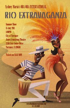 Samba show Poster