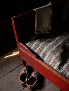 Old Finnish bed