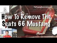 How To Remove Seats and Check for Rust - 1966 Mustang