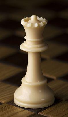 Chess Piece  White Queen