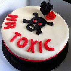 Mr Toxic b-day choco cake! choco cake