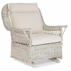 Hemingway Wicker Single Glider by wicker liked... | Wicker Furniture  wickerparadise.com