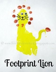 Hand/Feet- Footprint Lion