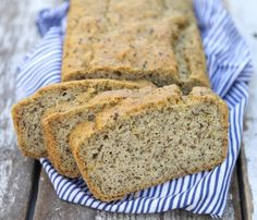 Almond Bread - a fast and delicious bread for any time of day