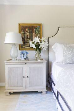 elegant california bedroom
