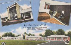 Cavalier Manor Motel, Prints and Photographs, LVA.