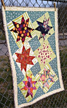 Twisted Stars quilt
