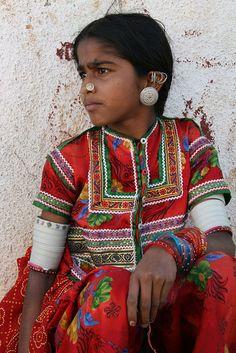 Tribal fantasy in Gujarat , India