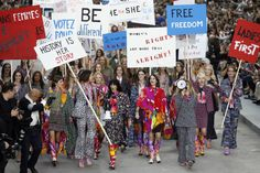 The Chanel Runway Was Also a Feminist Protest