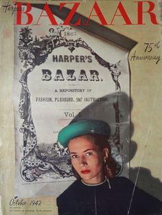 Alexey Brodovitch Harper's Bazaar October 1942
