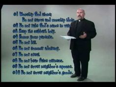 The 10 Commandments from Father Joe - YouTube