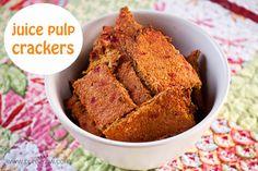 Juice Pulp Crackers