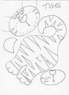 molde tigre