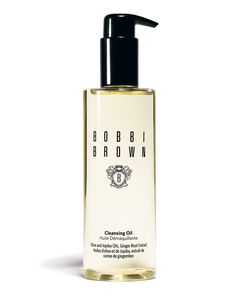 Want to try: Bobbi Brown Cleansing Oil.