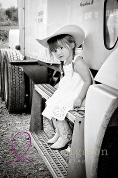 adorable little cowgirl