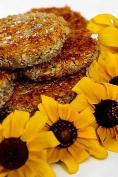Beltaine:  #Sunflower #Seed #Cakes, for #Beltaine.